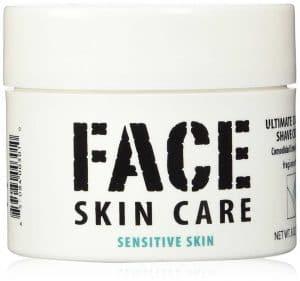 Face Skin Care: Ultimate Comfort Shaving Cream for Sensitive Skin