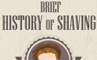 History of Shaving Infographic! (10 Point Summary)