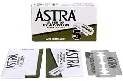 Astra Superior Premium Platinum Double Edge Razor Blades
