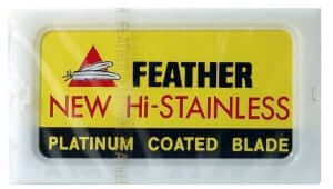 Feather Double Edge Blade Package