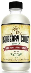 Bay Rum Aftershave by Barbary Coast Shave Co.