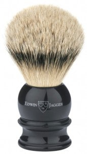 Edwin-Jagger-Large Silvertip shaving brush