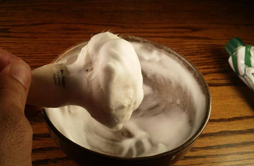 Shaving Cream Lather