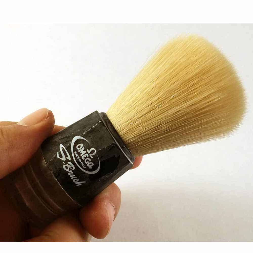 Omega S synthetic brush review