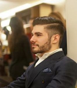 The Undercut Hairstyle with beard