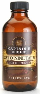 Captain's Choice Cat O' Nine Tails Bay Rum