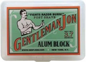 Gentleman Jon Alum Block