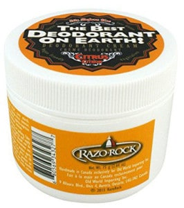 The Best Deodorant on Earth! by RazoRock