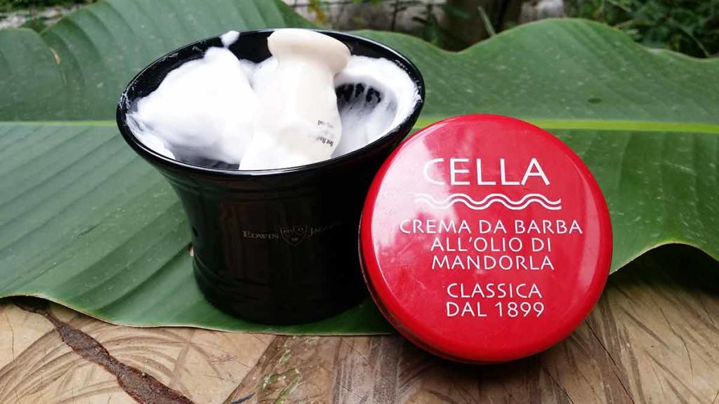 Cella Shave Soap Review