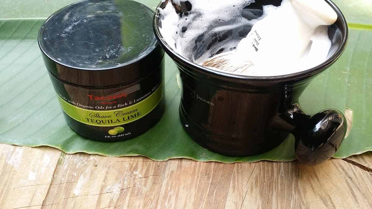Taconic Shave Lime Shaving Cream