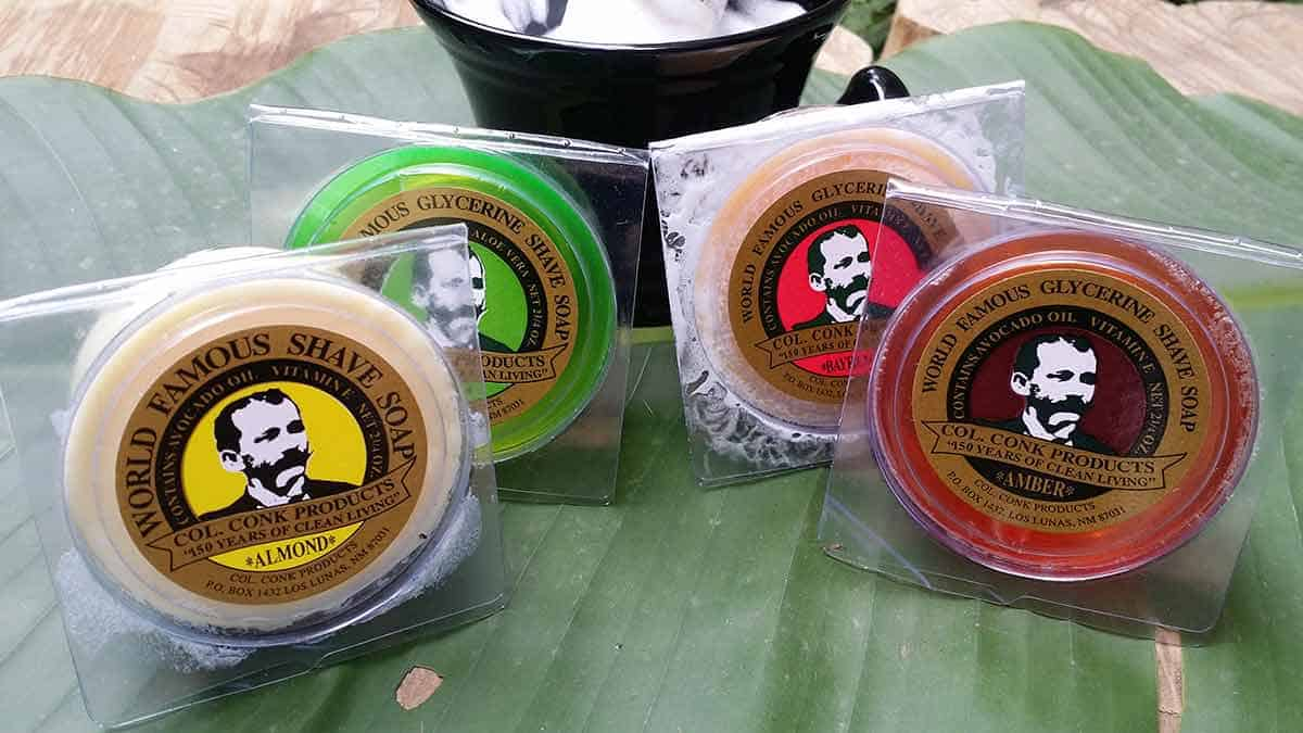 Colonel Conk Shaving Soap Review – The Variety Pack