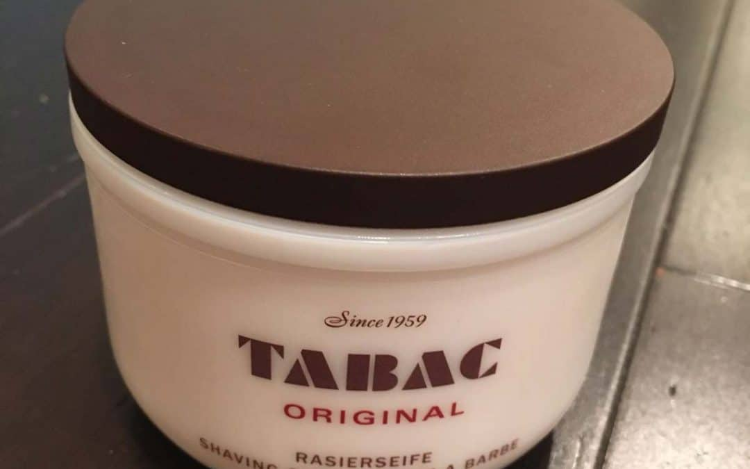 Tabac Shaving Soap Review – The Classic Tub!