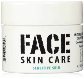 Face Skin Care: Ultimate Comfort Shaving Cream for Sensitive Skin
