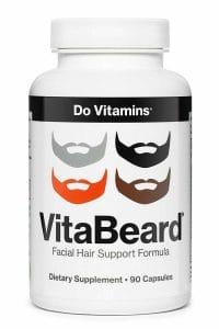 VitaBeard Facial Hair Growth Multivitamin