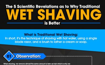The 5 Reasons Why Wet Shaving is Better (Backed by Science!)