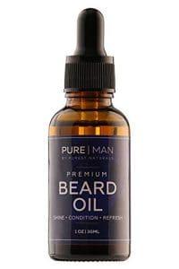Purest Naturals Organic Rose Beard Oil & Leave-InConditioner