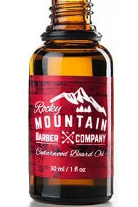Rocky Mountain Barber Company Cedarwood Beard Oil