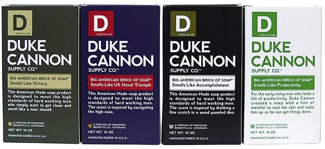Duke Cannon's Men's Soap Brick