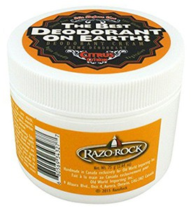 Razorock best natural deodorant on earth