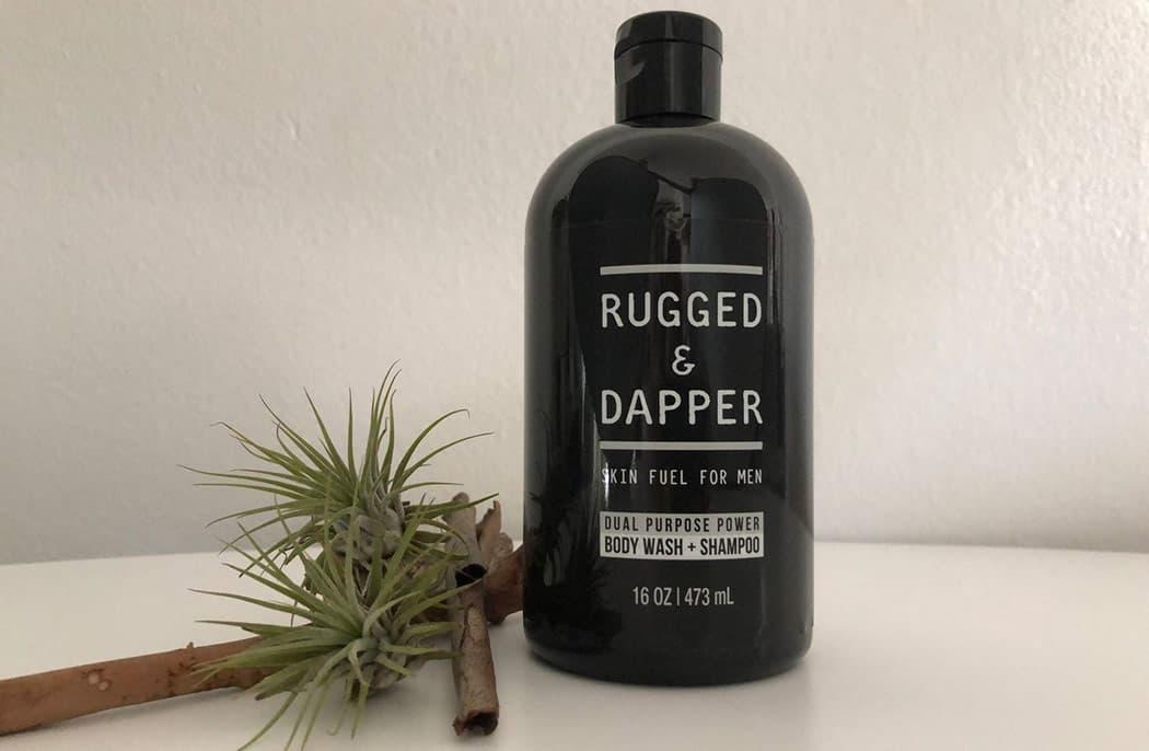 Rugged & Dapper Body Wash Feature