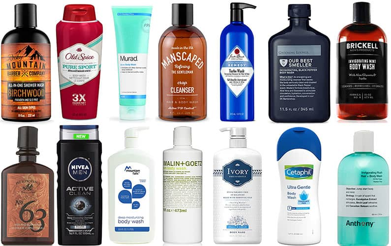 5 Best Body Washes for Men for Every Skin Type (October 2018)