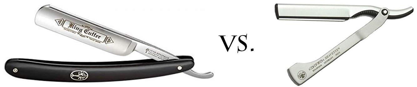 Traditional vs. Shavette Style Straight Razor
