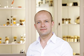 CEO of Muhle Shaving, Andres Muller