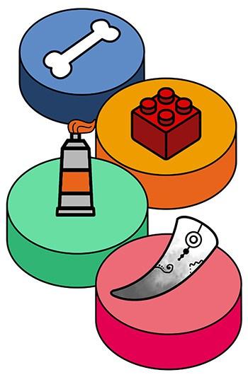 Shaving Brush Handle Materials