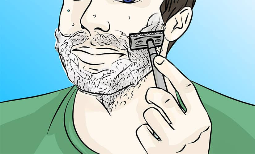 Shaving With Acne – The Definitive Step by Step Guide
