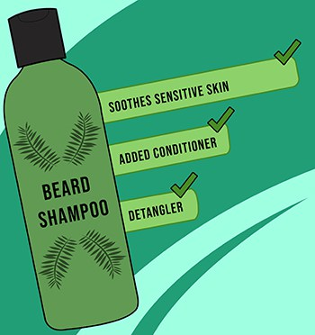 Beard Shampoo Extra Features