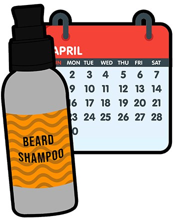 Lifespan of beard shampoo