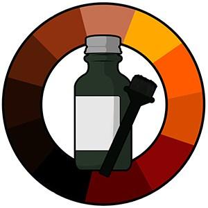 Choosing a beard dye color option