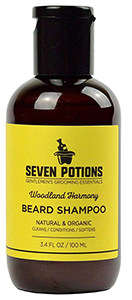 Seven Potions Beard Shampoo for Men