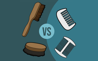 Beard Brush vs Beard Comb (Find Which One is Best for Your Beard)