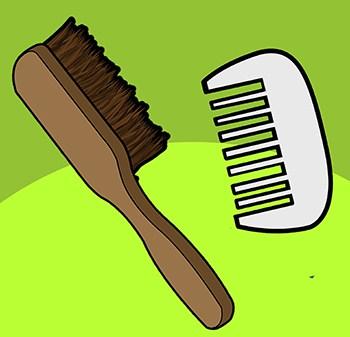 Use Force to straighten beard