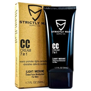 CC Cream for Men 7-in-1 Tinted Face Moisturizer
