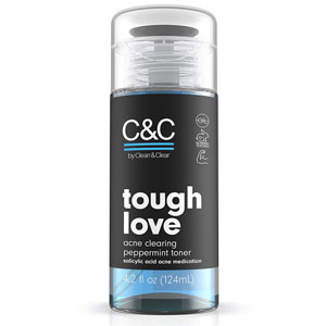 C&C Tough Love Acne Clearing Peppermint Facial Toner