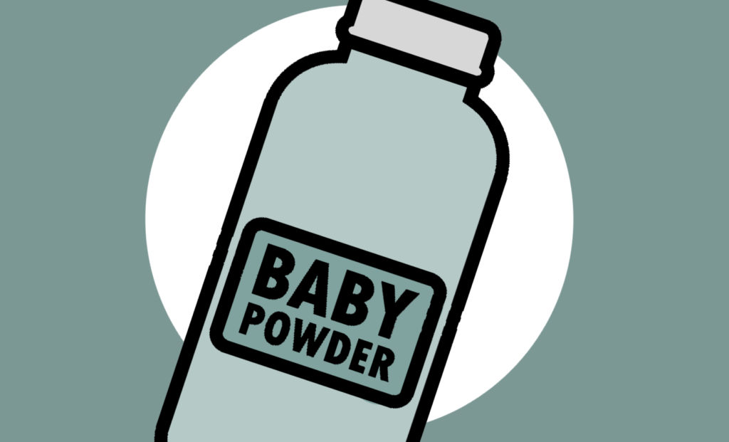 Baby Powder to smell good