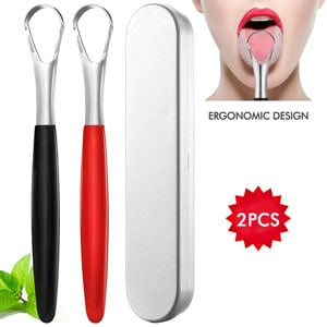 INCOK Stainless Steel Tongue Scraper
