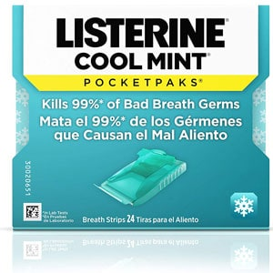 Listerine Cool Mint Pocketpaks Breath Strips