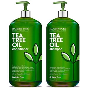 Majestic Pure Tea Tree Shampoo and Conditioner Set