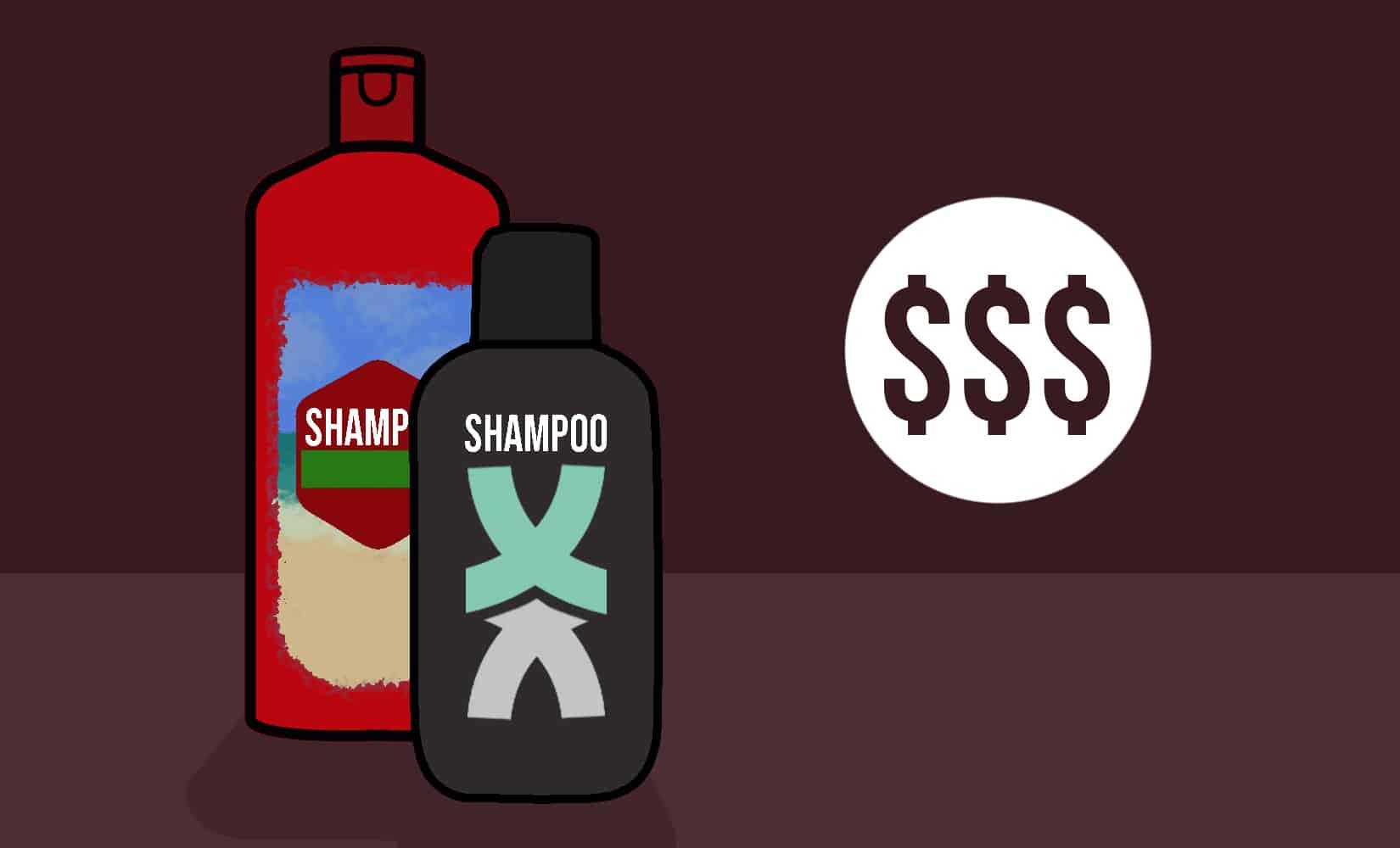 Mens Shampoo Cost