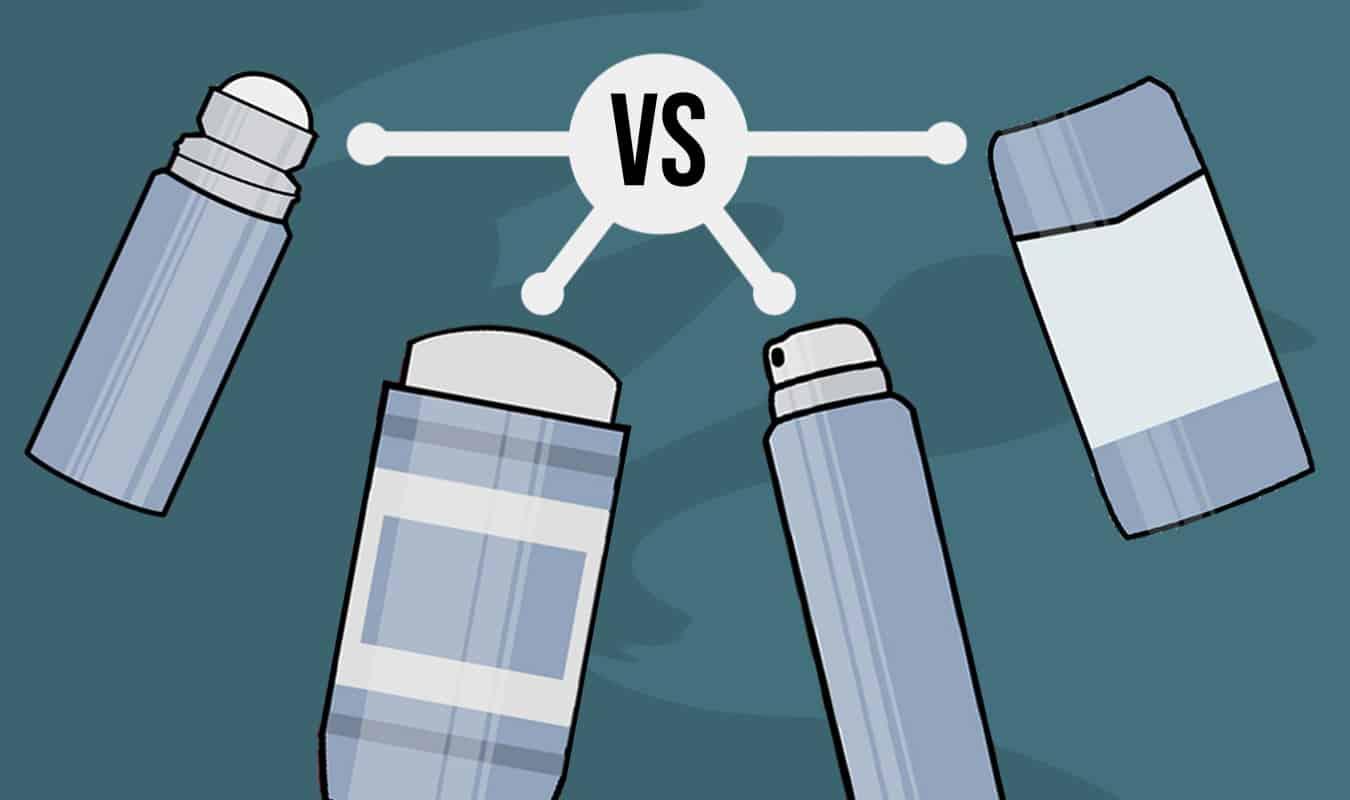 Type of natrual deodorant (Stick vs Gel vs Cream vs Spray)