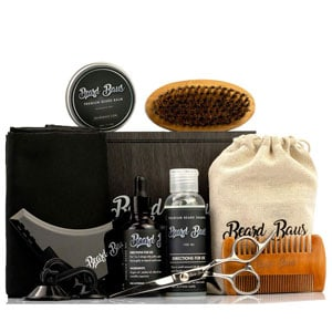 Beard Baus Grooming Kit for Men