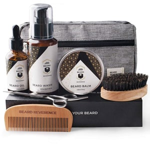 Beard Reverence Premium Beard Grooming Kit for Men