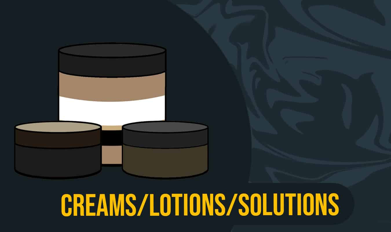 DHT Creams and Lotions