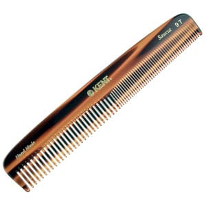 Kent Handmade Comb, Coarse, and Fine-Toothed