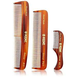 Kent Handmade Combs for Men Set of 3