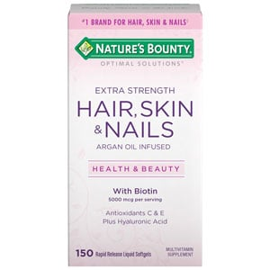 Nature's Bounty Optimal Solutions Hair Skin and Nails Extra Strength