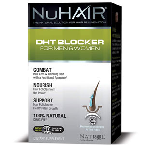 Nu Hair DHT Blocker for Men and Women
